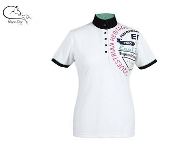 £38.72 • Buy Busse Ladies Technical Competition Show Shirt Jumping Dressage White Navy Pink