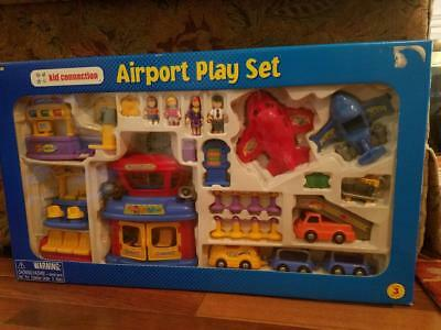 $66.18 • Buy Li'l Kidz Airport Play Set Unopened 2000s Wal-Mart Kid Connection
