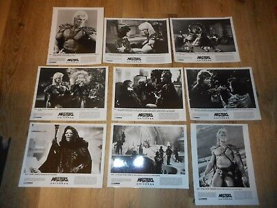 $50 • Buy Masters Of The Universe -  Set Of 9 Original Publicity Photos - Lord Skeletor