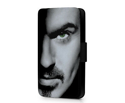 George Michael Wham Faith Careless Whisper Faux Leather Phone Flip Case Cover • 10.19£