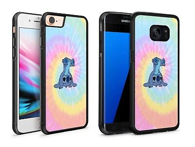 Cute Lilo & Stitch Tie Dye Handstand Phone Case Cover For IPhone / Samsung • 5.43£