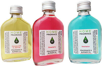 £4.99 • Buy Fragrance Oils For Oil Burners - Room And Home Scent - 50ml - Aromatherapy Oils