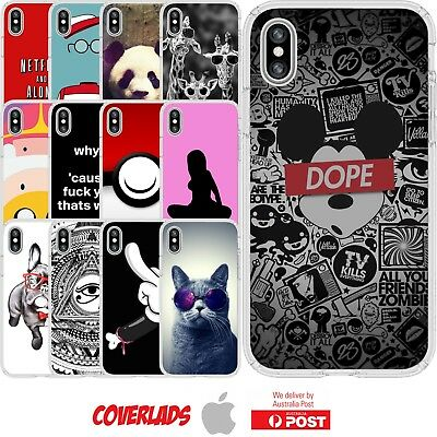 AU16.95 • Buy Silicone Cover Case Cool Swag Pop Designs Funny Banter Art - Coverlads