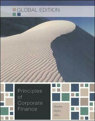 £8.99 • Buy PRINCIPLES OF CORPORATE FINANCE,GE By Franklin Allen Book The Cheap Fast Free