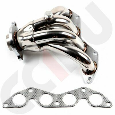 $49.99 • Buy FOR Honda Civic EX 01-05 1.7L SOHC D17A2 Stainless Race Exhaust Manifold Header
