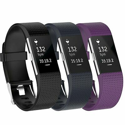 $ CDN7.50 • Buy 3 Pack Replacement  Band For Fitbit Charge 2 Small Bracelet Watch Rate Fitness