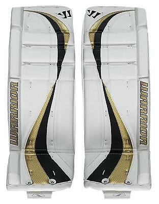 $259.99 • Buy New Warrior Swagger Int Goalie Pads White/gold 29 +1 Ice Hockey Goal Leg Pad