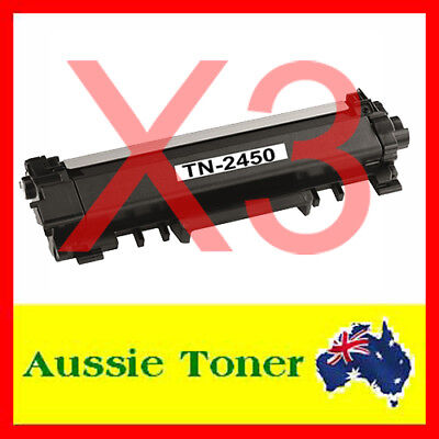 AU39.90 • Buy 3x TN-2450 W/CHIP Toner For Brother MFC-L2713DW MFC-L2730DW MFC-L2750DW L2350DW