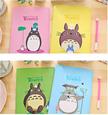 AU9.99 • Buy Set Of 4 - My Neighbor TOTORO B5 Size Book / Diary / Notebook / Sketchbook