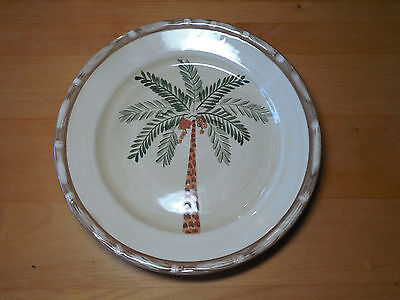 $6 • Buy Home Trends WEST PALM Salad Plate 8  Green Brown        15 Available