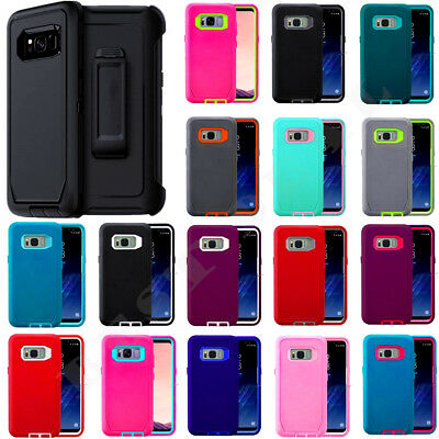 $ CDN14.96 • Buy For Samsung Galaxy S8 / S8 Plus Case Universal Clip Fits Otterbox Defender Cover