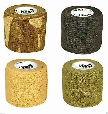 £7.49 • Buy Viper Tactical Tac Wrap Gun Tape Concealment Protection Webbing Hunting Airsoft