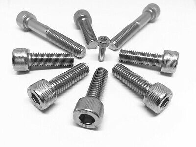 AU7.20 • Buy M3 M4 M5 M6 M8 Socket Head Cap Screw Stainless Steel 304 Metric Coarse