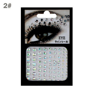 £2.57 • Buy Face Jewels Individual Gems Festival/Party/Dress Up Tattoo Transfers Style 2 Uk