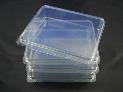 Clear Plastic Storage Cases, 4 Medium 5x4 - Rubber Stamps, Crafts, Hardware  • 7.67£