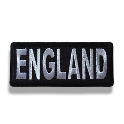 Embroidered 3  England Sew Or Iron On Patch Biker Patch • 3.50£