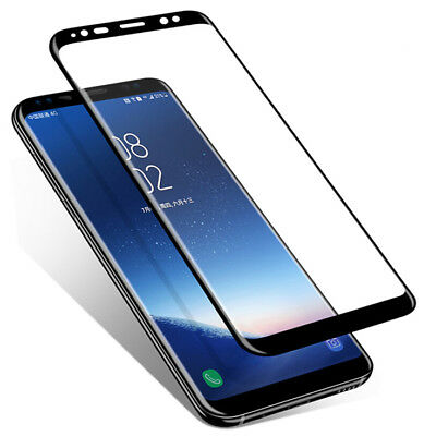 AU6.49 • Buy FULL COVERAGE Tempered Glass Screen Protector For Samsung Galaxy S7 S8 S9 + Plus