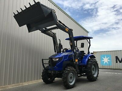 AU23990 • Buy TRIDENT 55HP Tractor With 4in1 Bucket