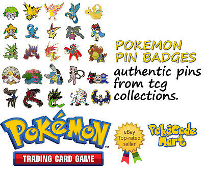 £5.79 • Buy Pokemon Pins & Badges (Pin Badges) From TCG Collections Etc, You Choose!