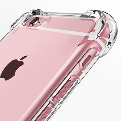 AU4.75 • Buy Shockproof Thin Armor Slim Case Cover For Apple IPhone 5 5s SE 6 6s 7 8 Plus X