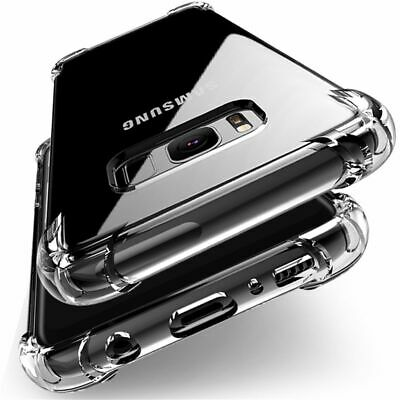 AU4.95 • Buy Shockproof Hard Heavy Duty Case Cover For Samsung Galaxy S7 Edge S8 S9 + Plus