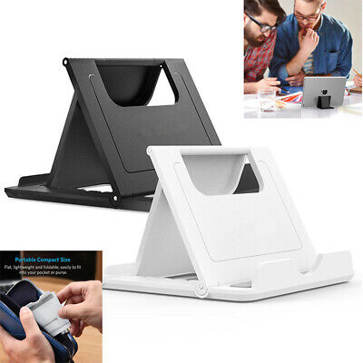 $3.99 • Buy Universal Foldable Cell Phone Desk Stand Holder Mount Cradle For Phone Tablet