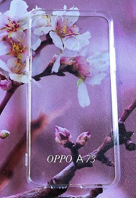 AU9.95 • Buy TPU Soft Gel Jelly Case Cover For Oppo A73  Clear +  Free Screen Protector