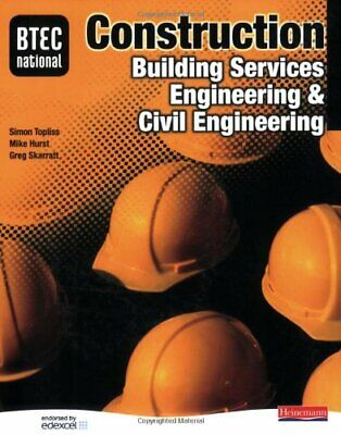 £3.59 • Buy BTEC National Construction, Building Services Enginee... By Mike Hurst Paperback