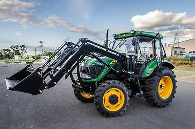 AU41990 • Buy New 90hp Tractor For Sale Air Con Cabin 4x1 Front End Loader