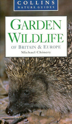 £6.45 • Buy CHINERY BOOK COLLINS NATURE GUIDE GARDEN WILDLIFE OF BRITAIN & EUROPE Bargain