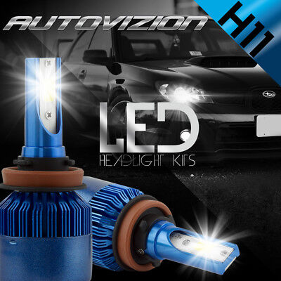$19.39 • Buy AUTOVIZION LED HID Headlight Conversion Kit H11 6000K For 2007-2016 Toyota Camry