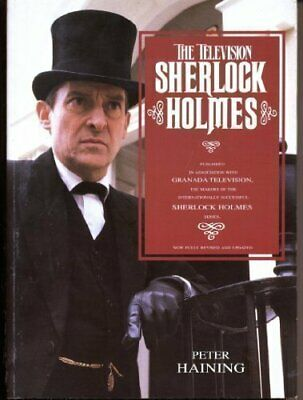 The Television Sherlock Holmes By Haining, Peter Paperback Book The Cheap Fast • 15.99£