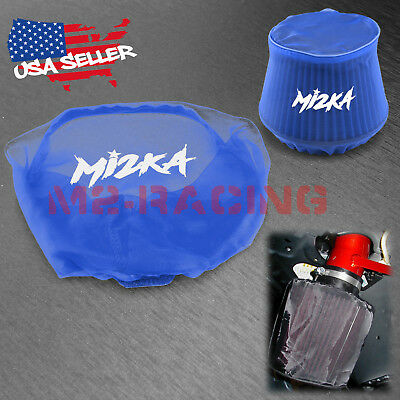 $14.88 • Buy Blue Engine Cold Air Intake Pre Filter Conical Cover Water Repellent Washable