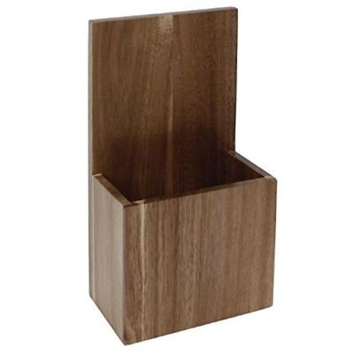 £14.05 • Buy Wall Mounted Takeaway Menu Holder Solid Wood Restaurant Cafe RCL390