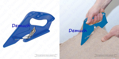£4.55 • Buy New UNIVERSAL CARPET CUTTER Vinyl Cutting Tool Underlay Fitting Trimmer Leather✔