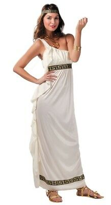 Ladies Olympian Goddess Toga Historical Carnival TV Fancy Dress Costume Outfit  • 21.99£