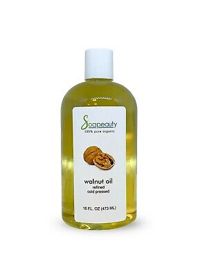 $24.90 • Buy Walnut Oil Carrier Organic Cold Pressed 100% Pure Refined 48 Oz (3 X 16 Oz)