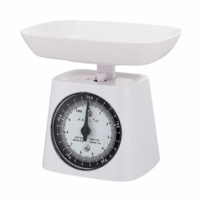 White Hanson Mechanical Kitchen Scale Capacity 5 KG HB440 • 12.31£