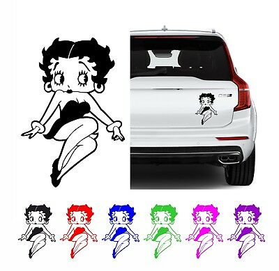 Betty Boop Style Decal Sticker For Your Macbook, Laptop, Wall, Car 8 Designs • 2.49£