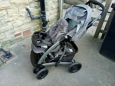 Graco Quattro Tour Deluxe Bear And Friends Travel System Single Seat Stroller. • 100£