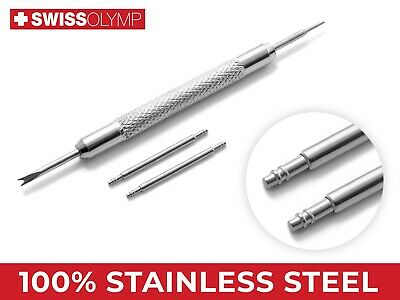 20mm For SEIKO Watch Steel Pins Spring Bars Strap Band Buckle Clasp Remover Tool • 4.75£