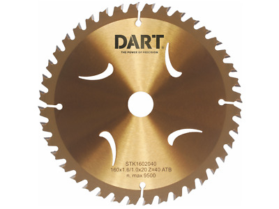 £15.68 • Buy DART Thin Kerf TCT Wood/Timber Cutting Circular Saw Blades,From 120mm To 184mm
