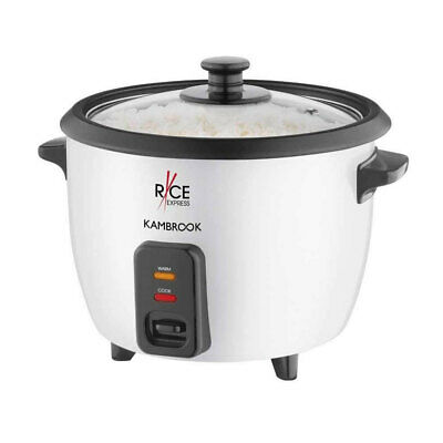 AU39.95 • Buy Kambrook Electric Rice Cooker Express 5 Cup W/ Non-stick Bowl Pan/Spoon/Cup/lid