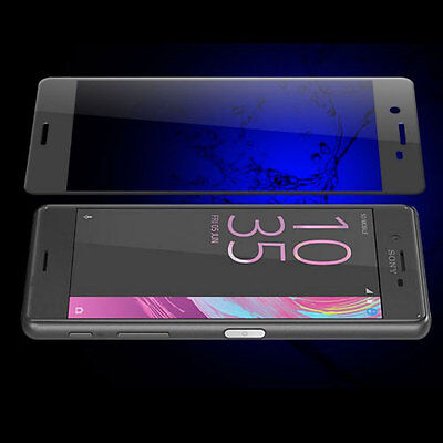 AU19.95 • Buy BLACK 3D Curved Edge Tempered Glass Screen Protector For SONY XPERIA XZ2 Premium