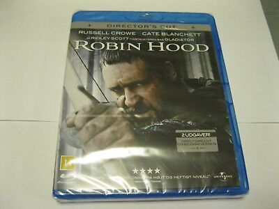 ROBIN HOOD  - IMPORT With Original Eng Soundtrack - NEW(N143) {Bluray}  • 2.99£