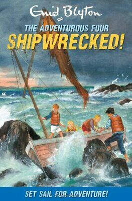 £3.99 • Buy Shipwrecked! (Adventurous Four) By Enid Blyton Paperback Book The Cheap Fast