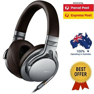 AU299 • Buy Sony MDR-1A MDR 1A Premium Hi-Res Over Ear Stereo Headphones BLACK