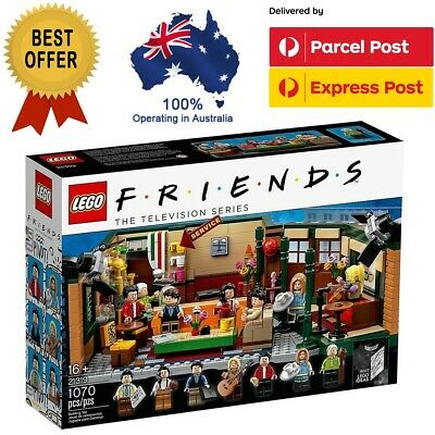 AU99 • Buy LEGO Ideas 21319 Central Perk Friends TV Series Brand New In Box