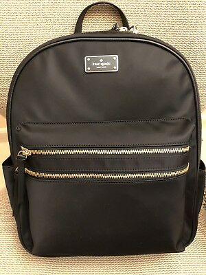 $ CDN217.50 • Buy NWT Kate Spade LARGE Bradley Wilson Road  Backpack Nylon Carryon
