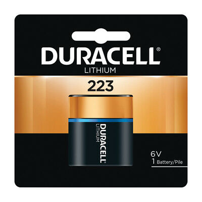 AU24.27 • Buy New! Duracell Ultra Lithium 223 DL223ABPK Camera Battery 6 Volts 1 Pk.